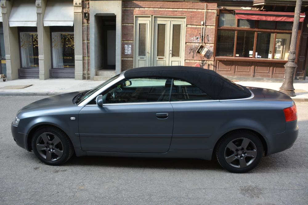 Audi A4 Convertible for rent